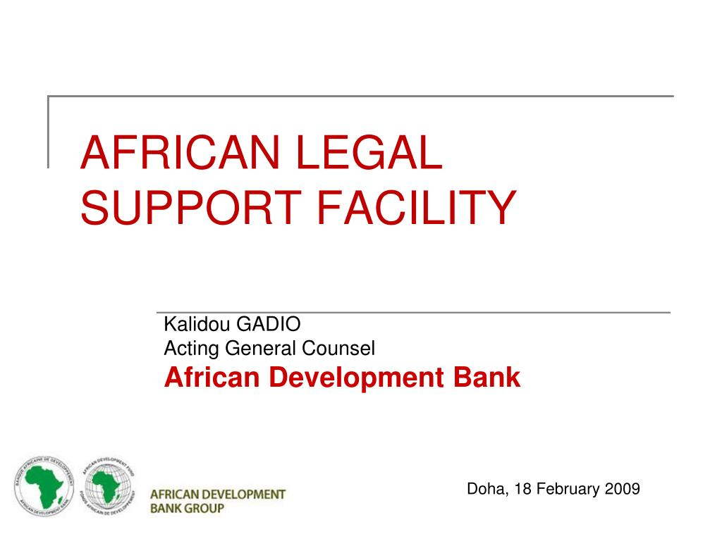 african legal support facility l.