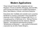 modern applications46