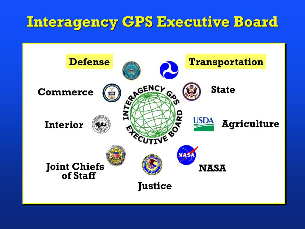 Interagency GPS Executive Board