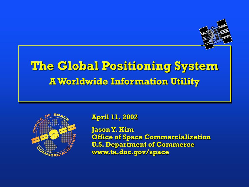 the global positioning system a worldwide information utility l.