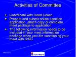 activities of committee26