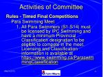 activities of committee27