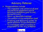 advisory referee74
