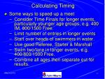 calculating timing46