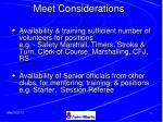 meet considerations15