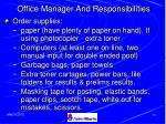 office manager and responsibilities77
