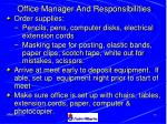 office manager and responsibilities78