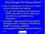 office manager and responsibilities79