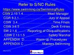 refer to s nc rules