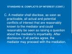 standard iii conflicts of interest cont23