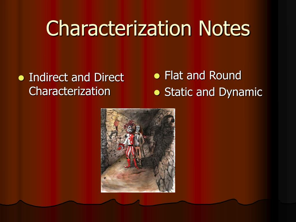 characterization notes l.