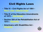 civil rights laws