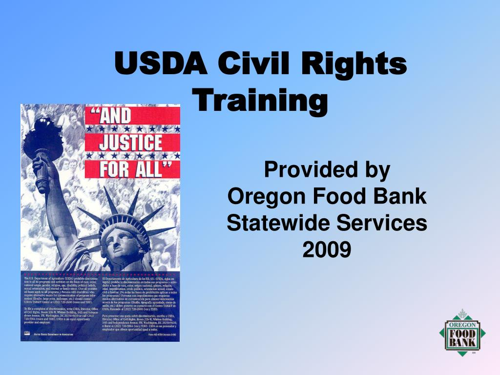 usda civil rights training l.