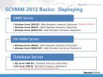 scvmm 2012 basics deploying