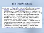 end time predictions5