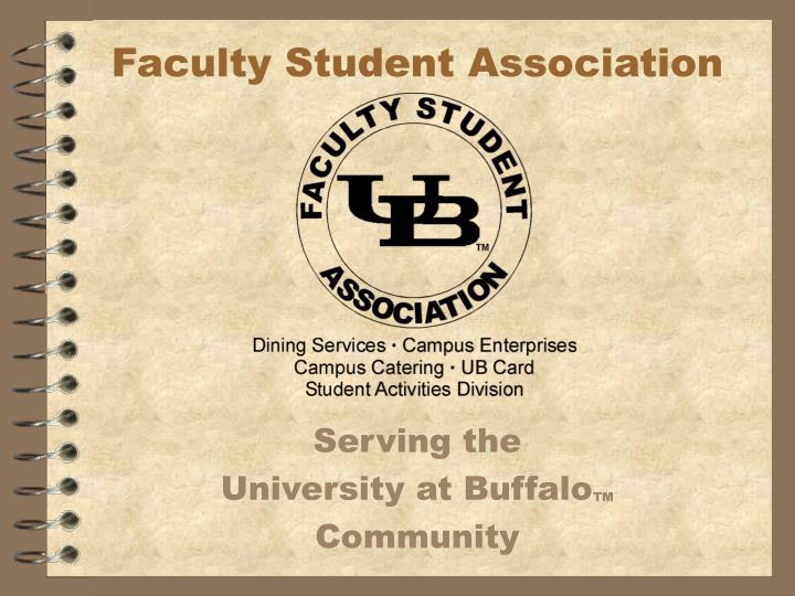 Faculty student association