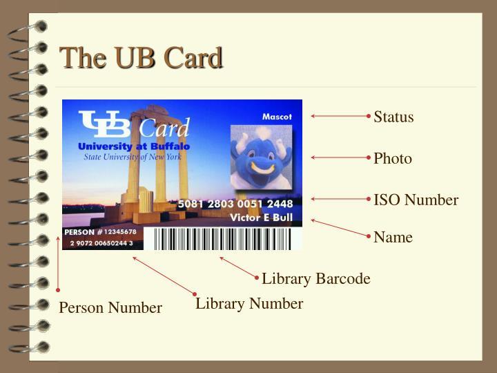 The ub card