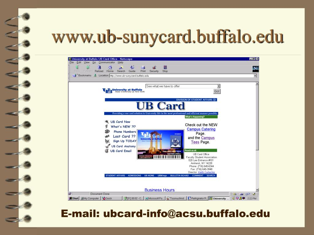 www.ub-sunycard.buffalo.edu