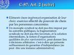 c 87 art 2 suite57