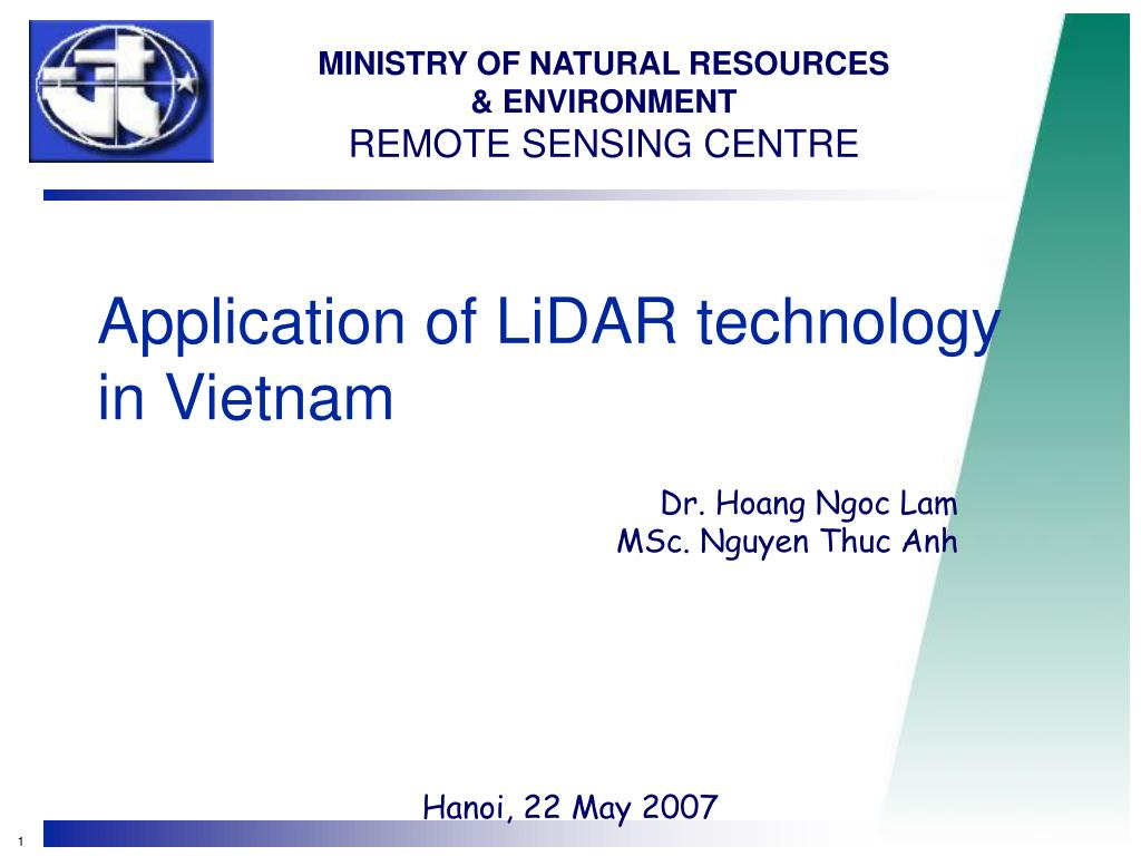 application of lidar technology in vietnam l.