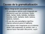 causas de la gramaticalizaci n16
