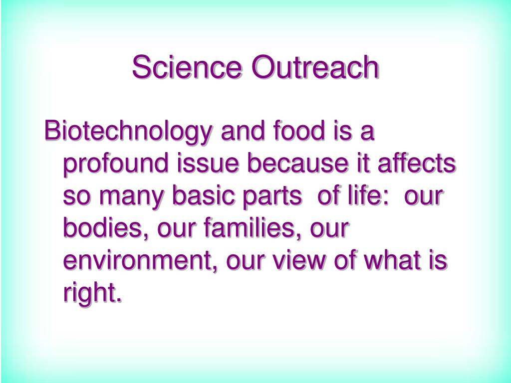 Science Outreach
