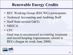 renewable energy credits39