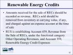 renewable energy credits42