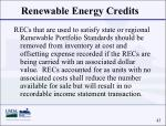 renewable energy credits43