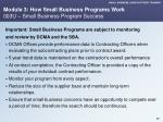 module 3 how small business programs work 003u small business program success
