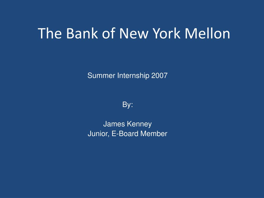 the bank of new york mellon l.