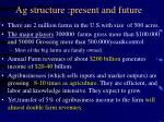 ag structure present and future