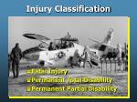 injury classification