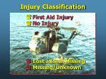 injury classification10