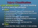 injury classification9