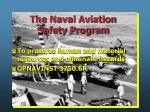 the naval aviation safety program