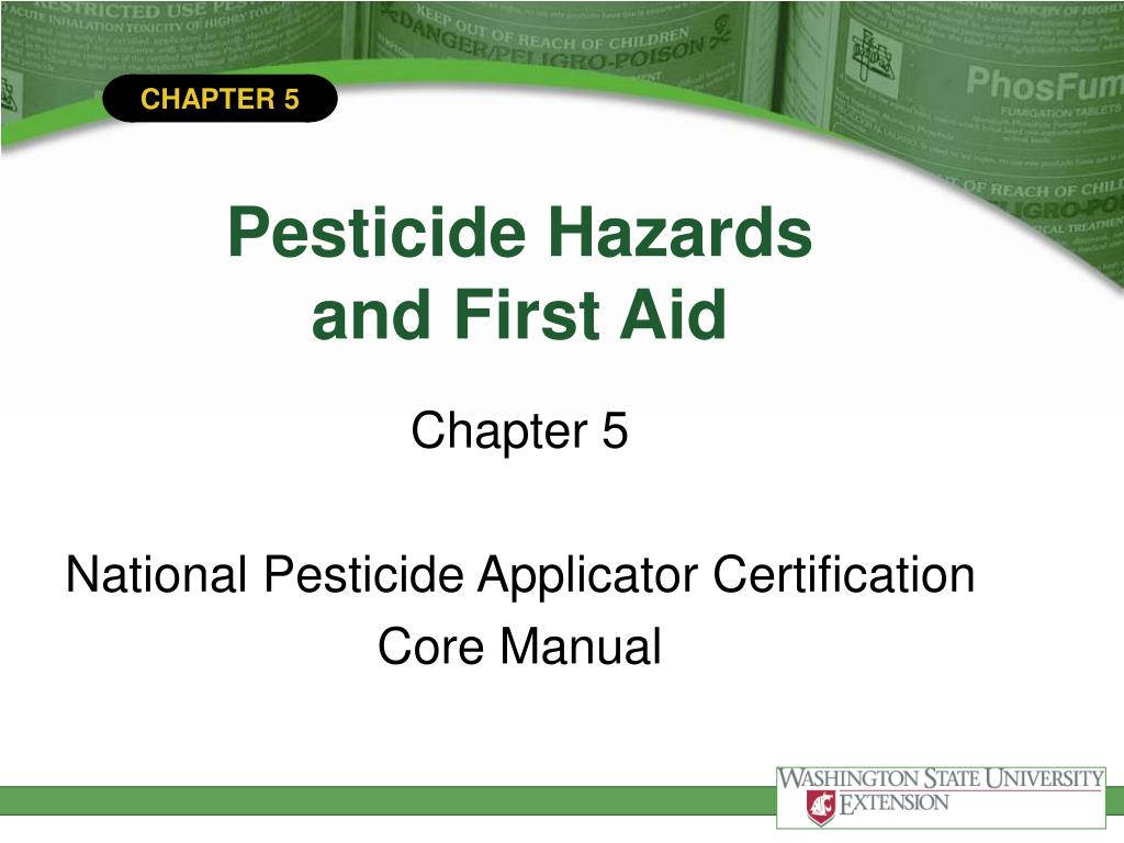 pesticide hazards and first aid l.