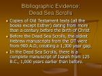 bibliographic evidence dead sea scrolls20