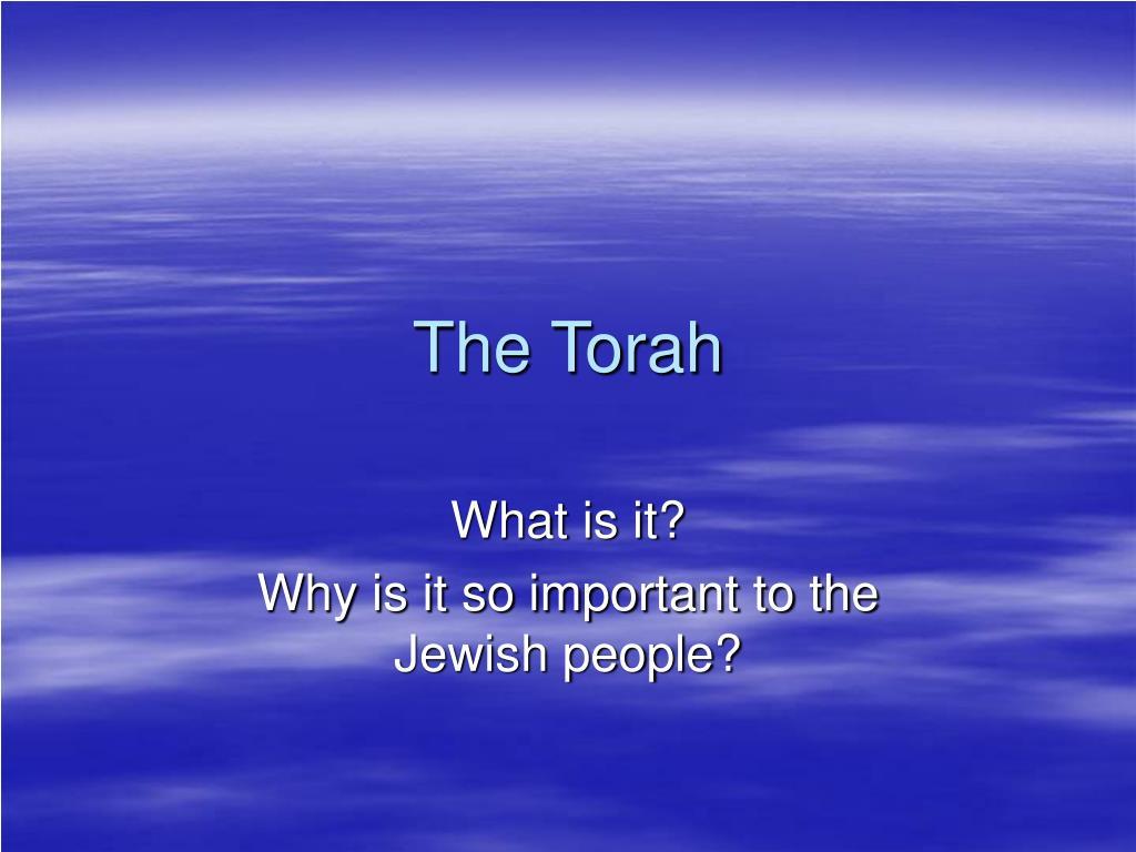 the torah l.