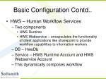 basic configuration contd10