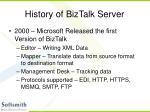 history of biztalk server