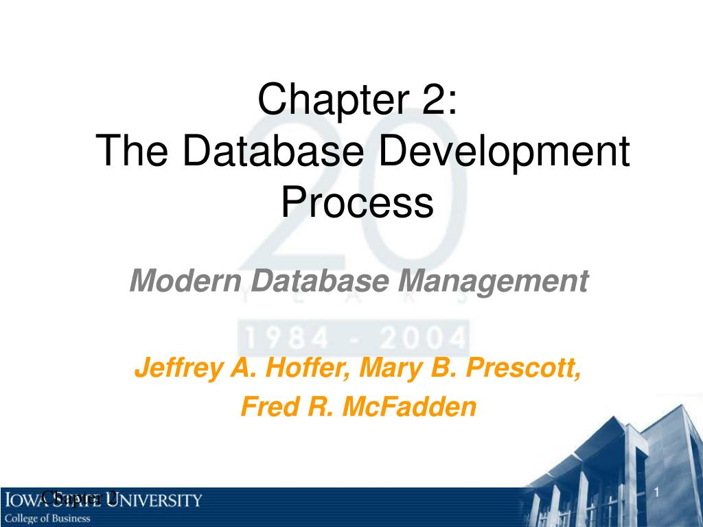 chapter 2 the database development process l.