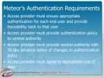 meteor s authentication requirements18