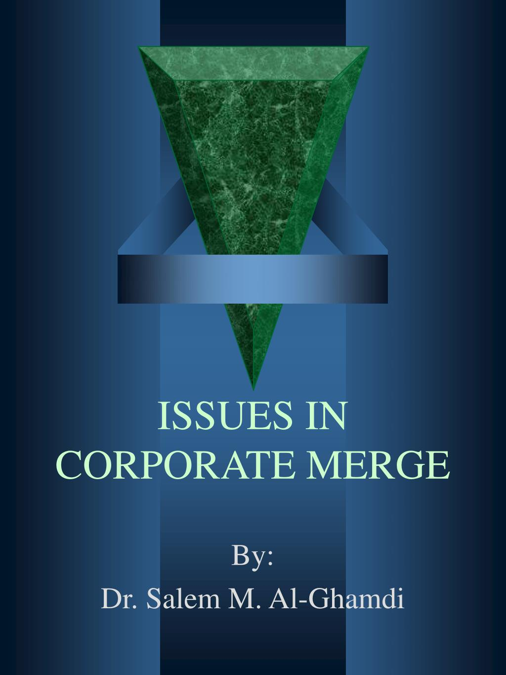 issues in corporate merge l.