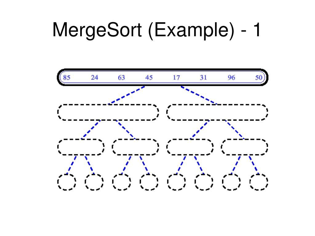 mergesort example 1 l.