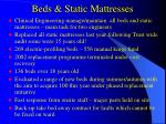 beds static mattresses