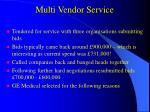 multi vendor service11