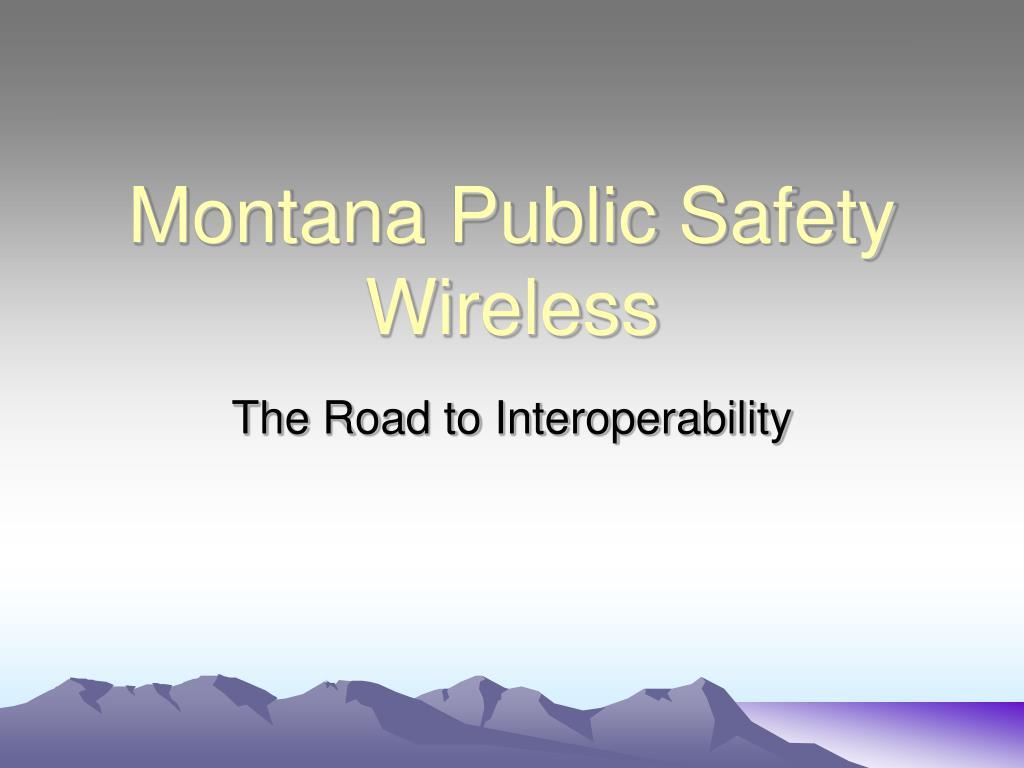 montana public safety wireless l.