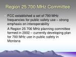 region 25 700 mhz committee