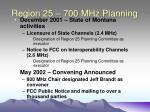 region 25 700 mhz planning24